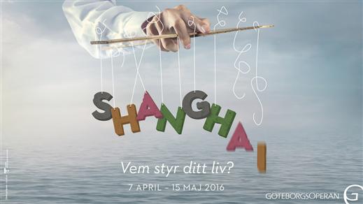Bild för SHANGHAI 21/4, 2017-04-21, Hebeteatern, Folkets Hus Kulturhuset