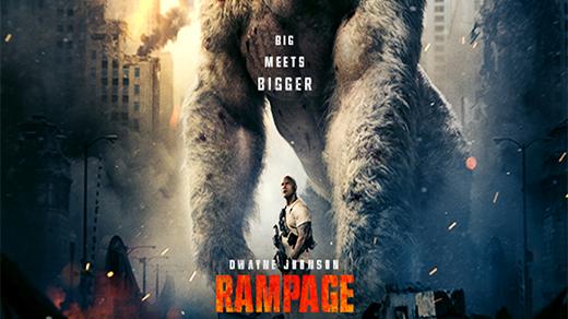 Bild för Rampage - Big Meets Bigger, 2018-04-27, Biosalongen Folkets Hus
