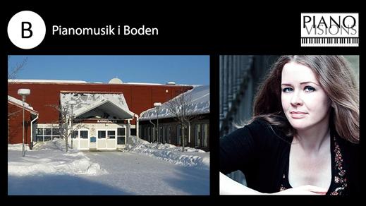 Bild för Pianoafton med Terés Löf, 2016-11-10, Björksalen i Boden