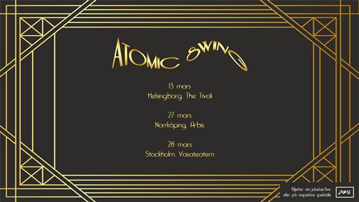 Bild för Atomic Swing | Arbis Live, 2021-09-17, Arbis