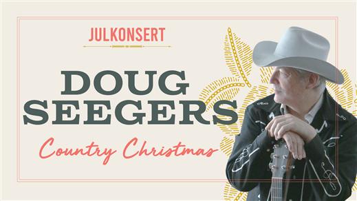 Bild för Julkonsert Doug Seegers Country Christmas, 2019-12-13, Najaden Halmstad