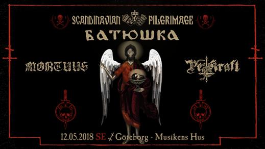 Bild för Batushka, Mortuus och Pestkraft i Göteborg, 2018-05-12, Musikens Hus