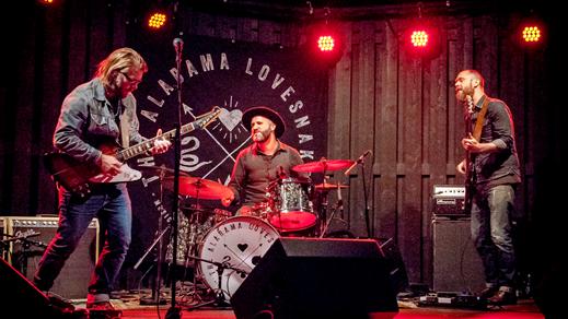 Bild för Alabama Lovesnakes - Live på Innergården, 2018-08-25, Nöjesfabriken