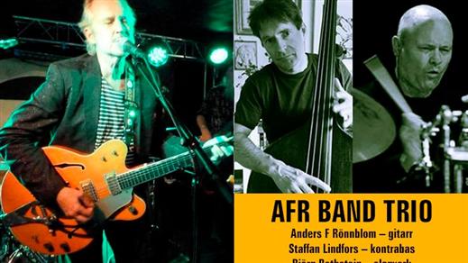 Bild för Anders F Rönnblom Trio, 2021-07-23, Kafé Himlavalvet