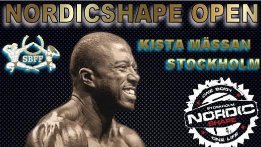 Bild för Nordic Shape Open, 2019-08-31, Kistamässan Stockholm