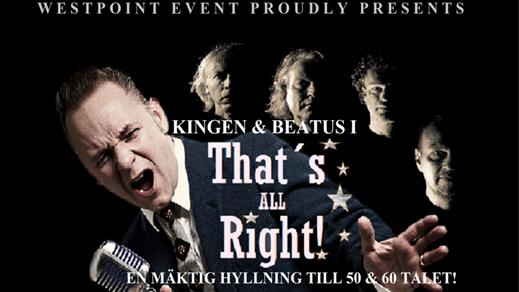 Bild för Thats All Right - Kingen, 2017-10-22, Folkan Teater
