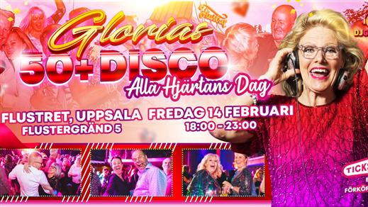 Bild för Glorias 50+ DISCO Flustret UPPSALA 14 feb 2020, 2020-02-14, Flustret