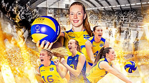 Bild för European Golden League volleyboll, 2019-06-08, Umeå Energi Arena Vatten