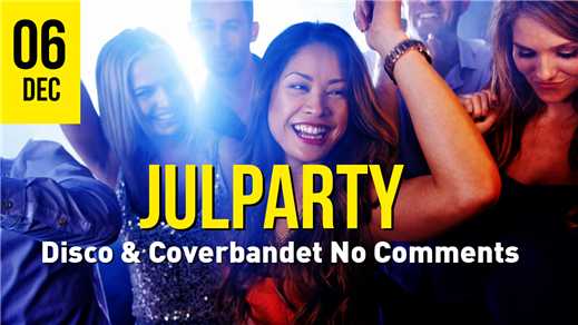 Bild för Julparty 6/12 No Comments & Disco, 2019-12-06, Torp