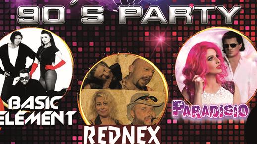 Bild för 90-talsparty Paradisio, Basic Element, Rednex, 2019-05-18, Halmstad Live