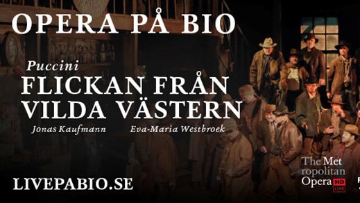 Bild för Operasupé Flickan från vilda västern, 2018-10-27, Kulturhuset i Svalöv