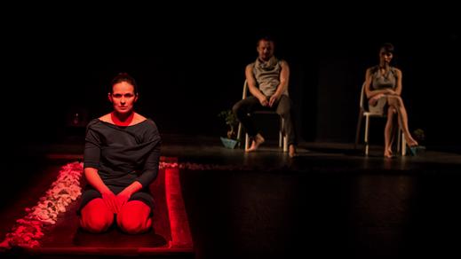 Bild för Gästspel på Tonsalen - The Crack med CHOREA, 2017-11-11, Teater Sláva, Tonsalen i Huddinge
