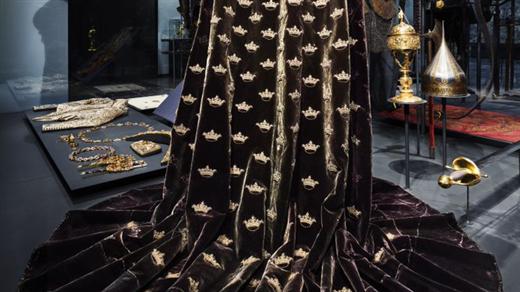 Bild för Erik XIV:s kröningsmantel, 2019-09-05, Livrustkammaren