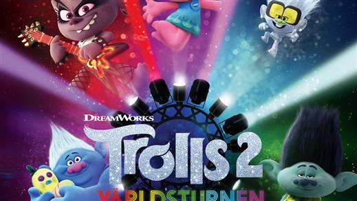 Bild för Trolls 2: Världsturnén (Sv. tal), 2020-11-01, Bräcke Folkets hus