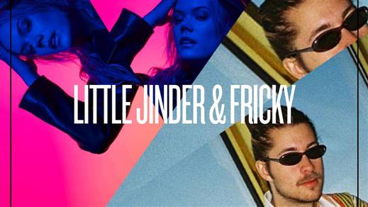 Bild för Little Jinder + Fricky, 2018-11-09, Nöjesfabriken