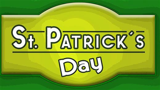 Bild för ST PATRICK'S DAY, 2021-03-17, Caféscenen i Spira
