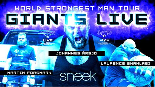 Bild för Giants Live Sweden 2017, 2017-11-11, Stadium arena