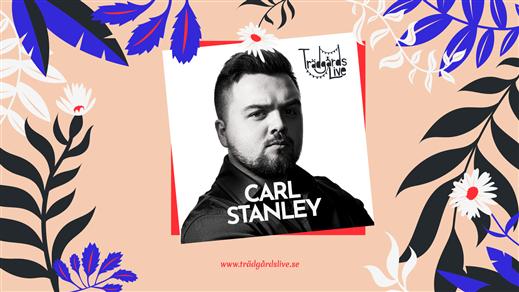 Bild för Standup i trädgården med Carl Stanley, 2021-08-21, Breanäs Hotell