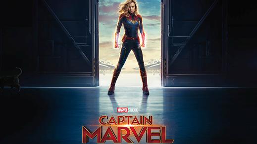 Bild för Captain Marvel, 2019-03-06, Estrad