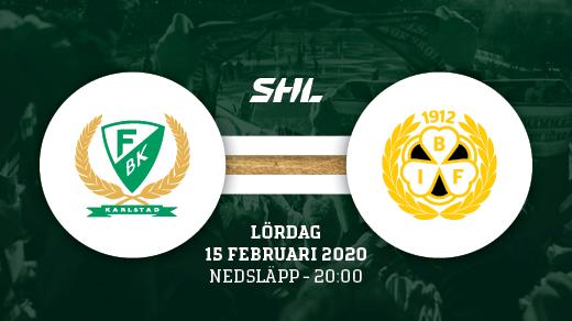 Bild för FÄRJESTAD BK - BRYNÄS, 2020-02-15, Löfbergs Arena