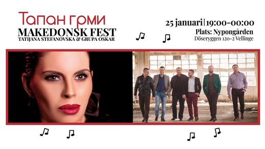 Bild för Tapan Grmi - Makedonsk Fest, 2020-01-25, Nypongården