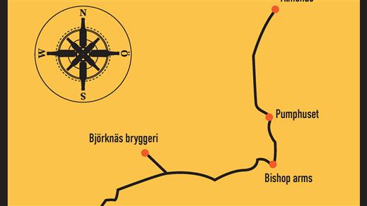 Bild för Walk About Beer, 2020-09-05, Björknäs Bryggeri