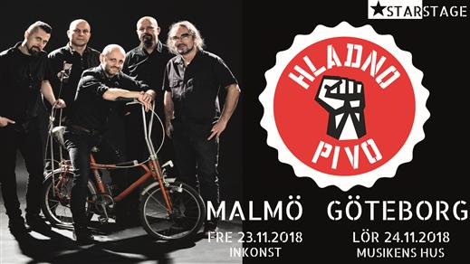 Bild för HLADNO PIVO 30 Years - Malmö, 2018-11-23, Inkonst