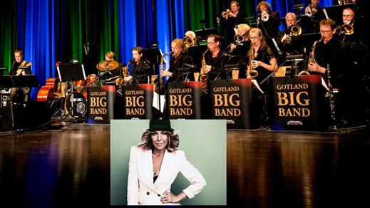Bild för Gotland Big Band. Trib. to Aretha Franklin, 2021-11-16, Nefertiti på Valand