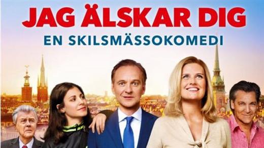 Bild för Jag älskar dig - En skilsmässokomedi Sal.2 Kl18:15, 2016-10-11, Saga Salong 2