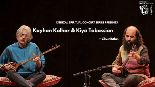 Bild för Kayhan Kalhor & Kiya Tabassian + Cloud Atlas, 2021-09-01, Inkonst salong