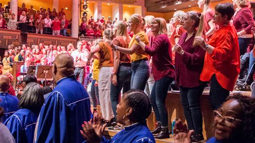 Bild för Sjung Gospel 2020 Måndagskören, 2020-02-01, Stockholms Konserthus
