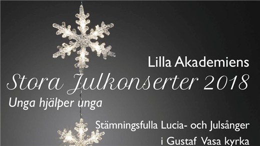 Bild för Lilla Akademiens Julkonsert, 2018-12-14, Gustaf Vasa kyrka