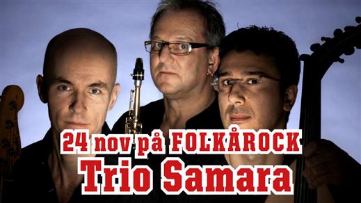 Bild för Trio Samara, 2016-11-24, Folk Å Rock