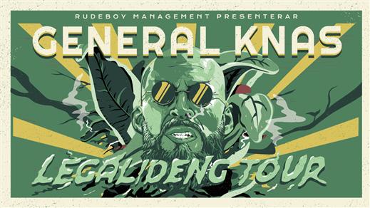 Bild för General Knas Legalideng tour!, 2019-03-01, Kajskjulet