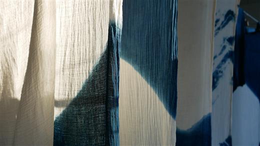 Bild för Färga med indigo, 2021-11-28, Världskulturmuseet