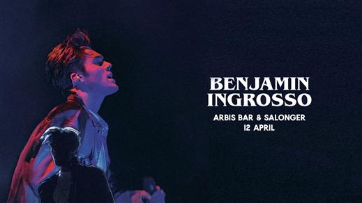 Bild för Benjamin Ingrosso, 2019-04-12, Arbis Bar & Salonger
