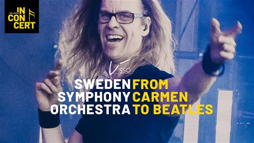 Bild för Sweden Symphony Orchestra - From Carmen to Beatles, 2021-10-16, Hebeteatern, Folkets Hus Kulturhuset