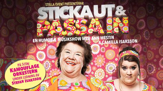 Bild för Ann Westin - Sticka ut & Passa in, 2016-10-15, Norrköping - Arbis Salonger