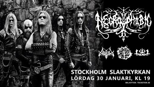 Bild för Necrophobic / Avslut / Vanhelga / Trident, 2021-01-30, Slaktkyrkan