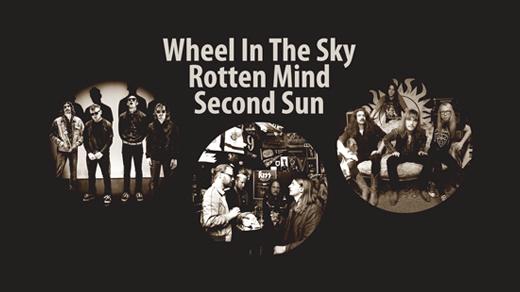 Bild för Wheel in the Sky, Rotten Mind & Second Sun, 2019-01-11, Katalin