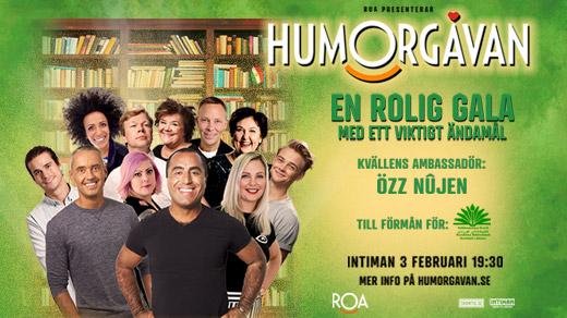 Bild för Humorgåvan 2020, 2020-02-03, Intiman