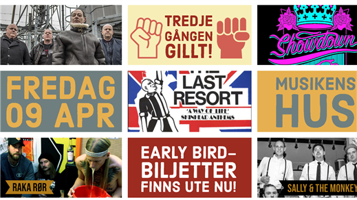 Bild för The Last Resort (UK) + support, 2021-04-09, Musikens Hus Stora Scen