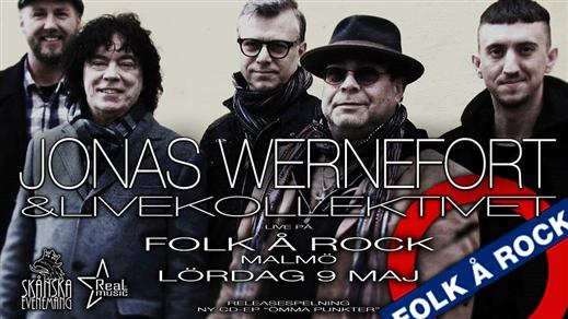 Bild för Jonas Wernefort & Livekollektivet, 2020-05-09, Folk Å Rock