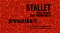 Presentkort Stallet - Världens Musik