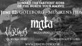 Mgla, Valkyrja, Acrimonious i Göteborg