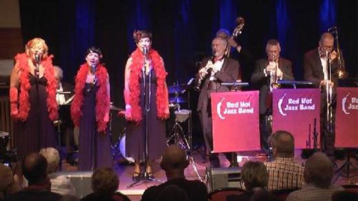 Bild för Red Hot Jazz Band med Novelty Sisters, 2020-02-12, Musikföreningen Crescendo