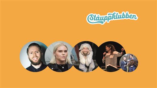 Bild för Ståuppklubben med Isak, Johanna, Henrik & Elvira, 2019-05-08, Contrast Public House