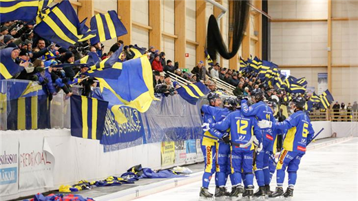 Bild för Bandyallsvenskan: Nässjö IF-Åby/Tjureda, 2019-02-05, Stinsen Arena