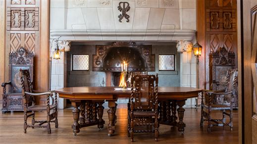 Bild för Klassisk Slottsvisning 12.00, 2017-08-23, Tjolöholms Slott