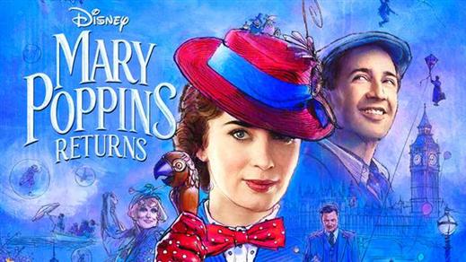 Bild för Mary Poppins kommer tillbaka (Eng tal. sv text), 2018-12-28, Kulturhuset i Svalöv